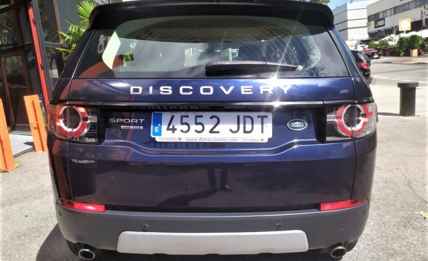 LAND-ROVER Discovery Sport TD4 4WD HSE