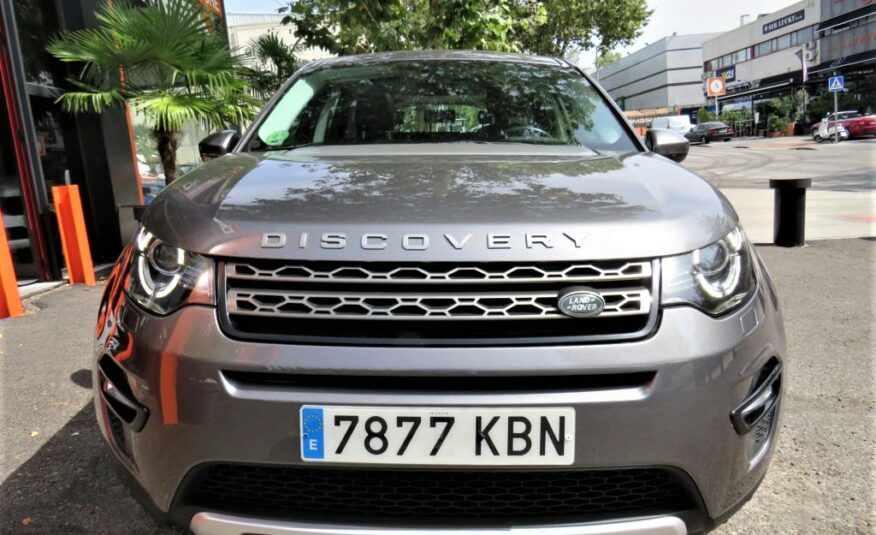 LAND-ROVER Discovery Sport 2.0L TD4 110kW 150CV 4×4 SE